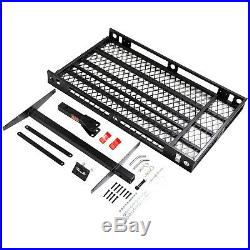 Heavy Duty Mobility Carrier Wheelchair Scooter Ramp Rack Hitch Mount 500Lbs