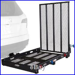 Hitch Mounted Mobility Device Carrier Rack & Ramp, Scooter Wheelchair Transport