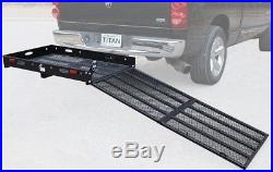 Hitch Mounted Wheelchair Scooter Mobility Carrier Medical Rack Ramp MC500 SC500