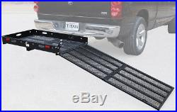 Hitch Mounted Wheelchair Scooter Mobility Carrier Rack Ramp MC500 USED