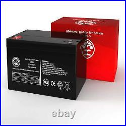 Hoveround Teknique XHD 12V 75Ah Mobility Scooter Replacement Battery
