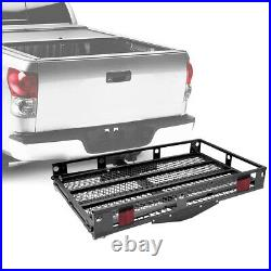 IRONMAX 500lbs Wheelchair Hitch Carrier Mobility Electric Scooter Loading Ramp