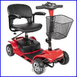 Innuovo electric mobility scooter 4 wheel protable power wheel chair lightweight