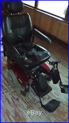 Invacare Pronto Power Chair Mobility Scooter M51 Mint Electric Wheelchair 300 lb