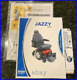 JAZZY 600 ES Power Wheelchair by Pride Mobility Used less than 2 Months