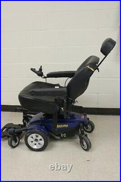 Jazzy Select 6 Electric Mobility Scooter Motorized Wheelchair with Reclining seat