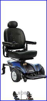 Jazzy Select Elite, Power Scooter Chair, Blue. Mobility Product