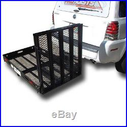 LOADING RAMP WHEELCHAIR CARRIERmobility scooter electric trailer hitch 500lbs