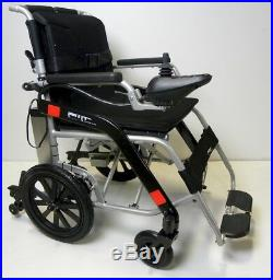 Lightweight electric folding wheelchair, mobility scooter