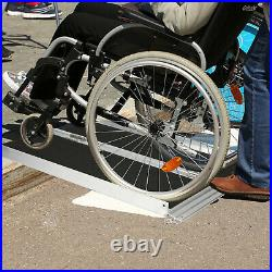 Luckyermore 3FT Wheelchair Ramp Folding Threshold Portable Mobility Scooter Home