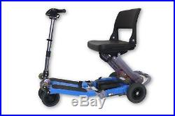 Luggie Standard 4-Wheel Compact Folding Mobility Scooter NO BATTERIES