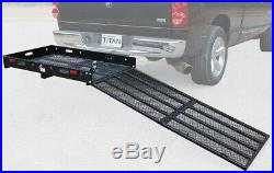 MC500 Hitch-Mounted Wheelchair Carrier, Mobility Scooter Car Ramp