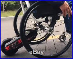 Manual Wheelchair Attachment Power Assist Modify to Electric Mobility Scooter