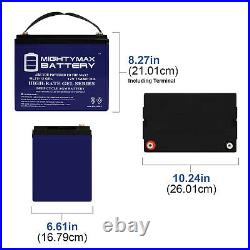 Mighty Max 12V 75AH GEL Battery Replacement for Scooter Wheelchair Mobility