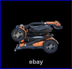 Mint Laser Guided Electric Fold 4 Wheel Mobility Scooter Power Chair Wheelchair