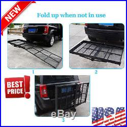 Mobility Carrier Wheelchair Electric Scooter Rack Hitch Disability Medical Ramp@