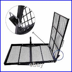 Mobility Carrier Wheelchair Scooter Rack Disability Medical Ramp Hitch Mount New