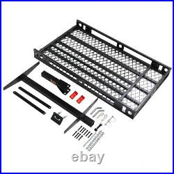 Mobility Carrier Wheelchair Scooter Rack Trailer Hitch Folding with Loading Ramp