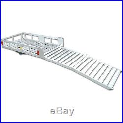 Mobility Foldable Carrier Cargo Hitch HeavyDuty Rack Ramp Wheelchair Scooter NEW