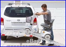 Mobility Foldable Carrier Cargo Hitch Heavy Duty Rack Ramp Wheelchair Scooter