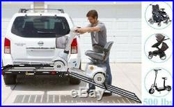 Mobility Foldable Carrier Hitch Large Rack Ramp Wheelchair Scooter Heavy Duty
