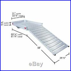 Mobility Foldable Carrier Hitch XXLarge Rack Ramp Wheelchair Scooter Aluminum