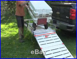 Mobility Foldable Carrier With Ramp Heavy Duty Extra Large Wheelchair Scooter US