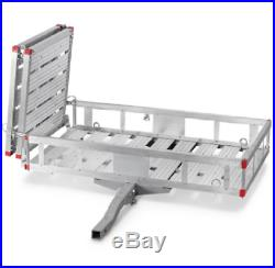 Mobility Foldable Carrier XXLarge Hitch Rack Ramp Wheelchair Scooter Heavy Duty