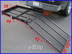 Mobility Scooter Loading Ramp Wheelchairs Hitch Lawnmower Handicap Medical new