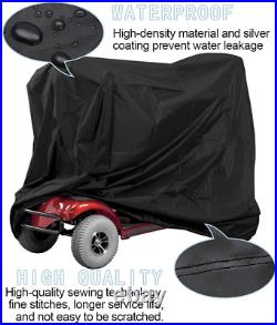 Mobility Scooter Rain Cover Electric Wheelchair Storage Protector Waterproof