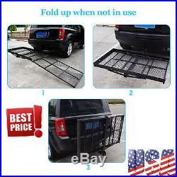 Mobility Wheelchair Carrier Electric Scooter Rack Hitch Disability Medical Ramp