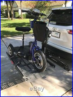 Mobility Works Motorized Lift Will Carry Wheelchair, Scooter Or Other