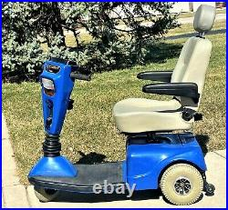 Mobility scooter Pride Celebrity older unit runs great fast low cost summer ride