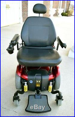 Mobility scooter electric wheelchair Jazzy 614HD 25 bariatric seat 450 lb rated