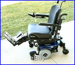 Mobility scooter electric wheelchair Jazzy J6 mint condition seat tilt feet lift
