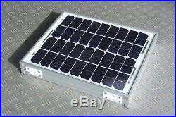 Mobility scooter wheelchair 20W 24v FOLDING PV SOLAR CHARGER PANEL CABLE 24 volt