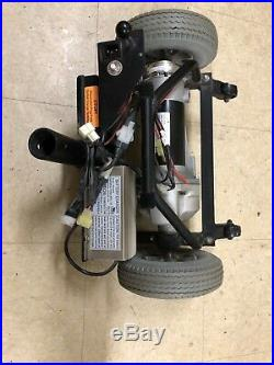 Motor, Brake, and Transaxle Assembly with wheels for Pride RALLY Mobility Scooter