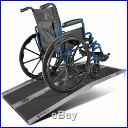 NEW! 5' ft Aluminum Multifold Wheelchair Scooter Mobility Ramp portable 60 (MF5)