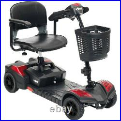 NEW AND TRAVEL Electric 4 wheel Mobility Scooter Power Wheel chair Lightweight