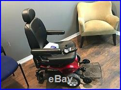 New 2018 Pride Mobility Jazzy ELITE ES Power Wheelchair Red Front Wheel Drive
