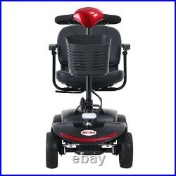 New 4 Wheel Power Mobility Scooter Heavy Duty Travel Portable Mobile Wheelchair