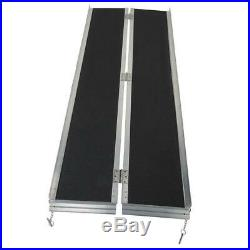 New Access Mobility Ramp Wheelchair 6ft Aluminum Scooter Threshold Non-Slip Ramp