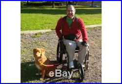 New Bike Tow Leash Adapted For Wheel Chairs & Mobility Scooters
