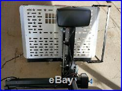 New, Harmar AL-100 Power Wheelchair Mobility Scooter Lift with Swingout. Charity
