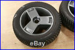 PAIR PR1MO Powertrax 9 x 3 Drive Wheels, Tires Pride Mobility Go Chair Scooter