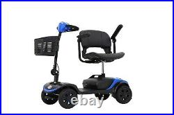 Portable Folding Drive TRAVEL Electric 4wheel Mobility Scooter Power Wheel Chair