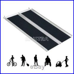 Portable Multi-Fold Mobility Device Scooter Wheelchair Ramp Capacity 600 lb