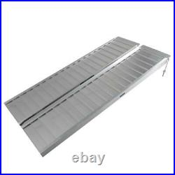 Portable Wheelchair Ramp 60'L x 28W Aluminum Folding Mobility Scooter Carrier