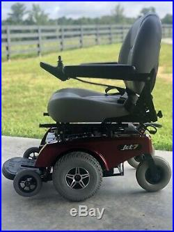 Power Chair Jet 7 Electric Wheelchair Mobility Scooter Pride New Batteries