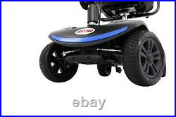 Power Mobility Scooter 4 Wheels Travel Electric Wheelchair Compact WithSwivel Seat